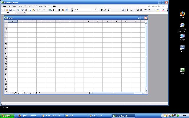 Excel sheet window size - Microsoft Office™